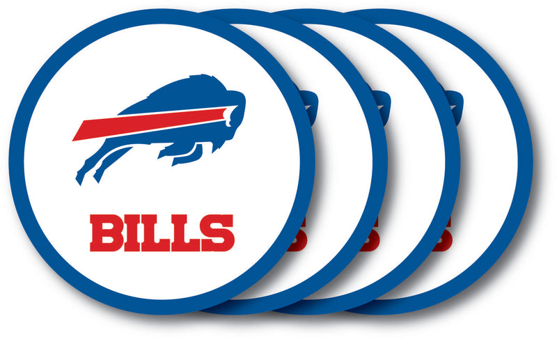 Buffalo Bills Coaster 4 Pack Set