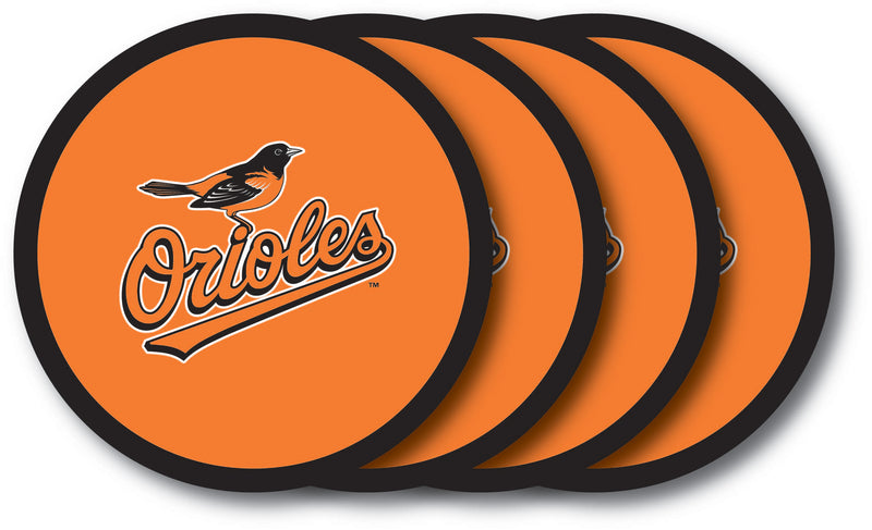 Baltimore Orioles Coaster Set - 4 Pack