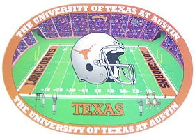 Texas Longhorns Set of 4 Placemats