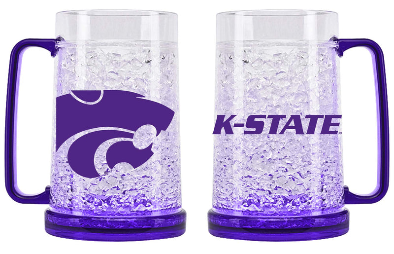 Kansas State Wildcats Crystal Freezer Mug