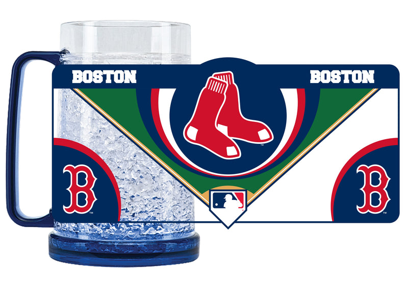 Boston Red Sox Mug Crystal Freezer Style