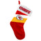 Kansas City Chiefs Stocking Holiday Basic - Special Order