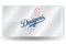 Los Angeles Dodgers License Plate Laser Cut Silver