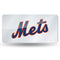 New York Mets License Plate Laser Cut Silver