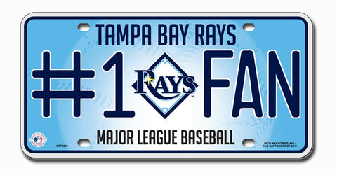 MLB - Tampa Bay Rays - Automotive Accessories