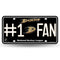 Anaheim Ducks License Plate #1 Fan - Special Order