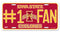 Iowa State Cyclones License Plate #1 Fan