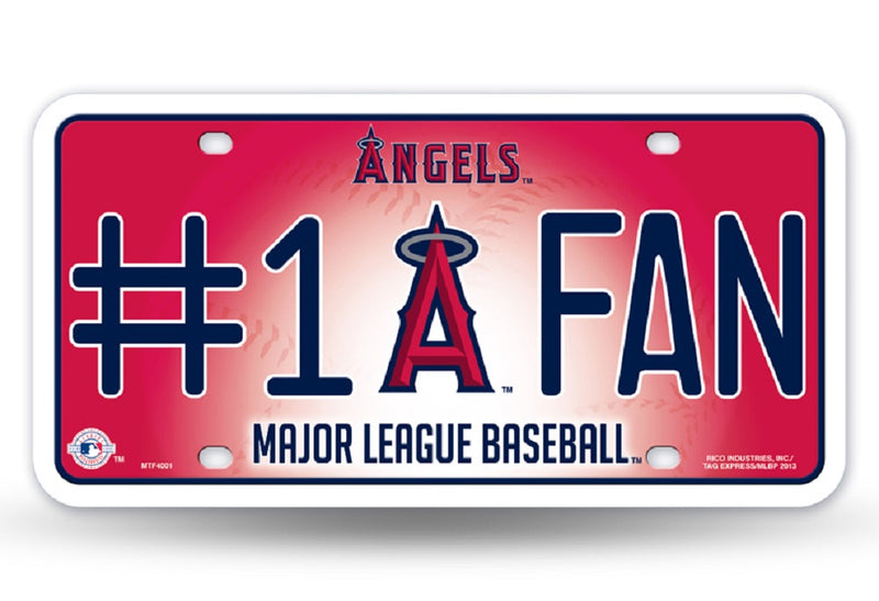 Los Angeles Angels License Plate -