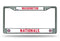 Washington Nationals License Plate Frame Chrome