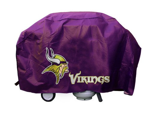 Minnesota Vikings Grill Cover Deluxe