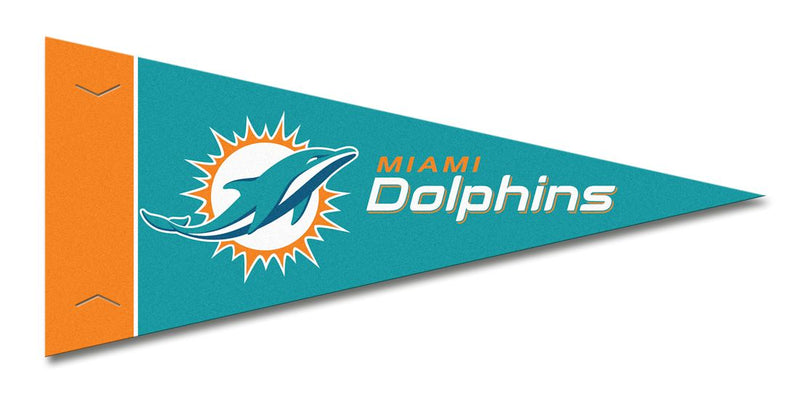 Miami Dolphins Pennant Set Mini 8 Piece