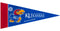 Kansas Jayhawks Pennant Set Mini 8 Piece