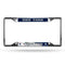 New York Yankees License Plate Frame Chrome EZ View