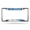 Los Angeles Dodgers License Plate Frame Chrome EZ View