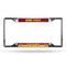 Iowa State Cyclones License Plate Frame Chrome EZ View