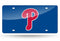 Philadelphia Phillies License Plate Laser Cut Blue