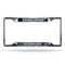 Oakland Raiders License Plate Frame Chrome EZ View