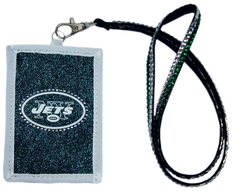 New York Jets Wallet Beaded Lanyard Style