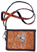 Cleveland Browns Wallet Beaded Lanyard Style