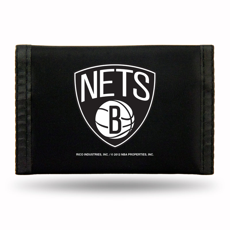 Brooklyn Nets Wallet Nylon Trifold