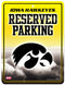 Iowa Hawkeyes Sign Metal Parking
