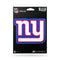 New York Giants Decal 5.5x5 Die Cut Bling