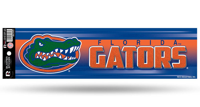 Florida Gators Decal Bumper Sticker Glitter