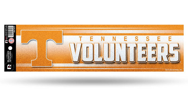 Tennessee Volunteers Decal Bumper Sticker Glitter