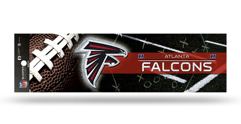 Atlanta Falcons Decal Bumper Sticker Glitter