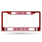 South Carolina Gamecocks License Plate Frame Metal Maroon - Special Order