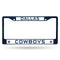 Dallas Cowboys License Plate Frame Metal Navy