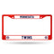 Minnesota Twins License Plate Frame Metal Red - Special Order