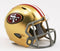 San Francisco 49ers Helmet Riddell Pocket Pro Speed Style