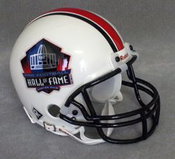 Hall of Fame Replica Mini Helmet w/ Z2B Face Mask