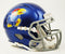 Kansas Jayhawks Speed Mini Helmet