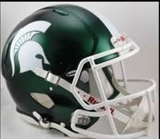 NCAA - Michigan State Spartans - Helmets
