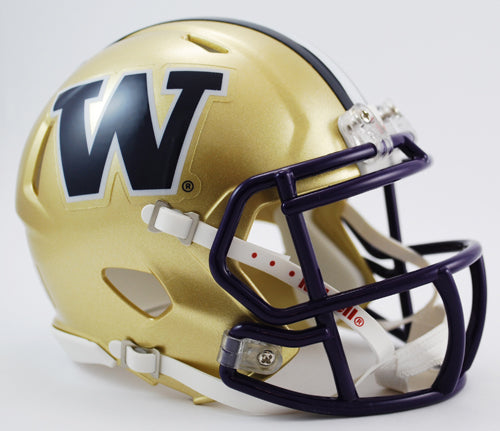 Washington Huskies Helmet Riddell Pocket Pro Speed Style