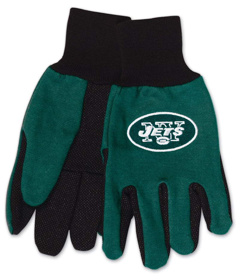 New York Jets Two Tone Youth Size Gloves