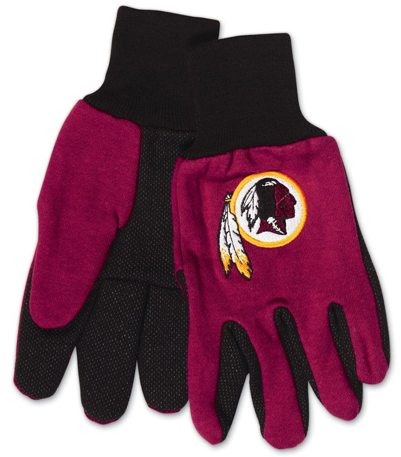 Washington Redskins Two Tone Youth Size Gloves - Special Order