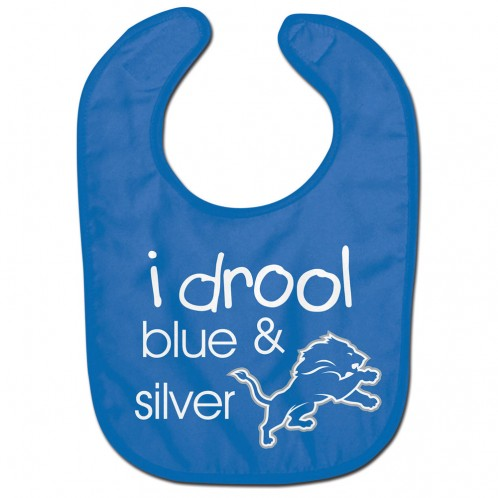 Detroit Lions Baby Bib All Pro Style I Drool Design