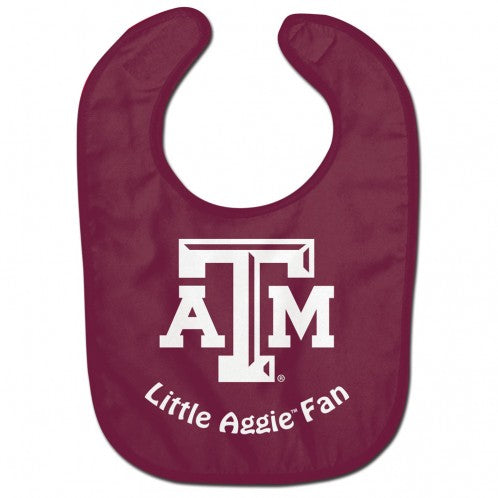 Texas A&M Aggies Baby Bib - All Pro Little Fan