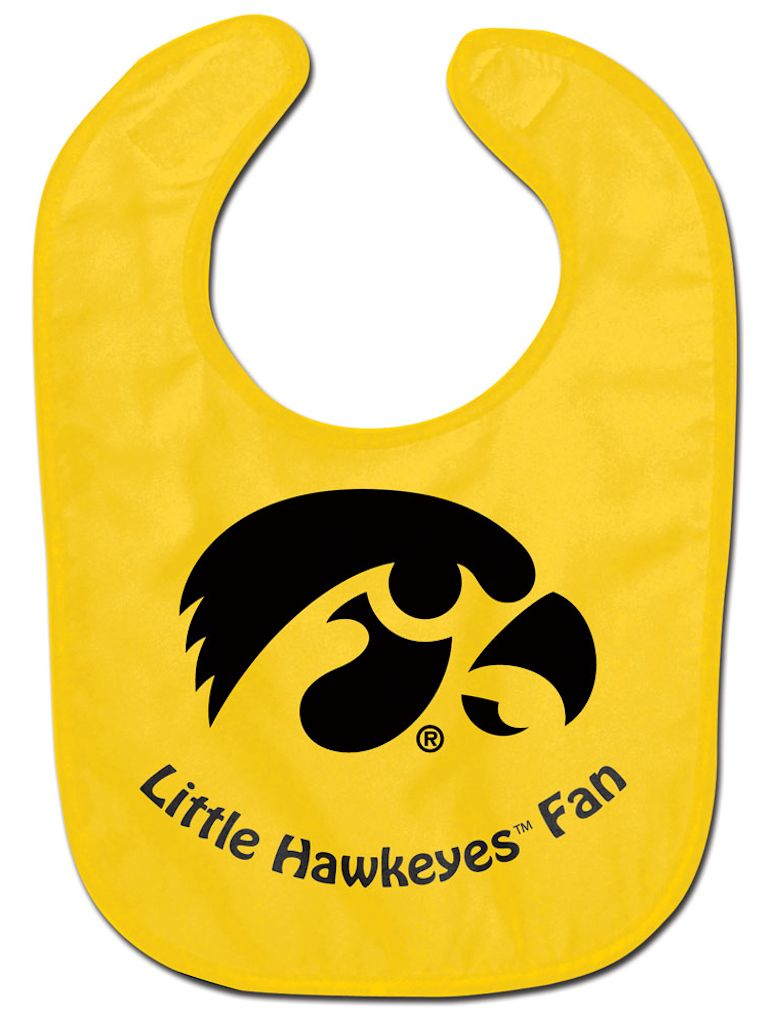 Iowa Hawkeyes Baby Bib - All Pro Little Fan