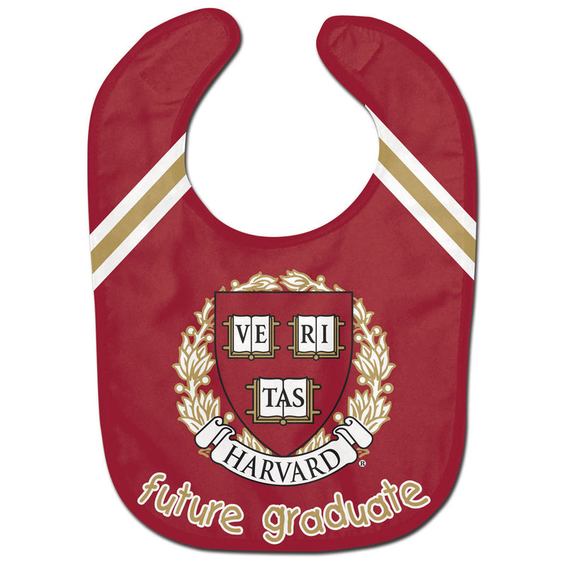 Harvard Crimson Baby Bib All Pro