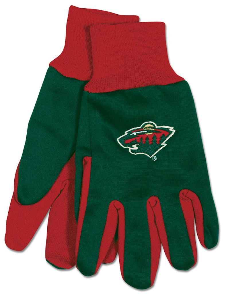 Minnesota Wild Two Tone Gloves - Adult