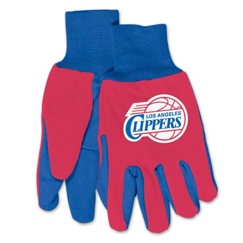 Los Angeles Clippers Two Tone Gloves - Adult - Special Order