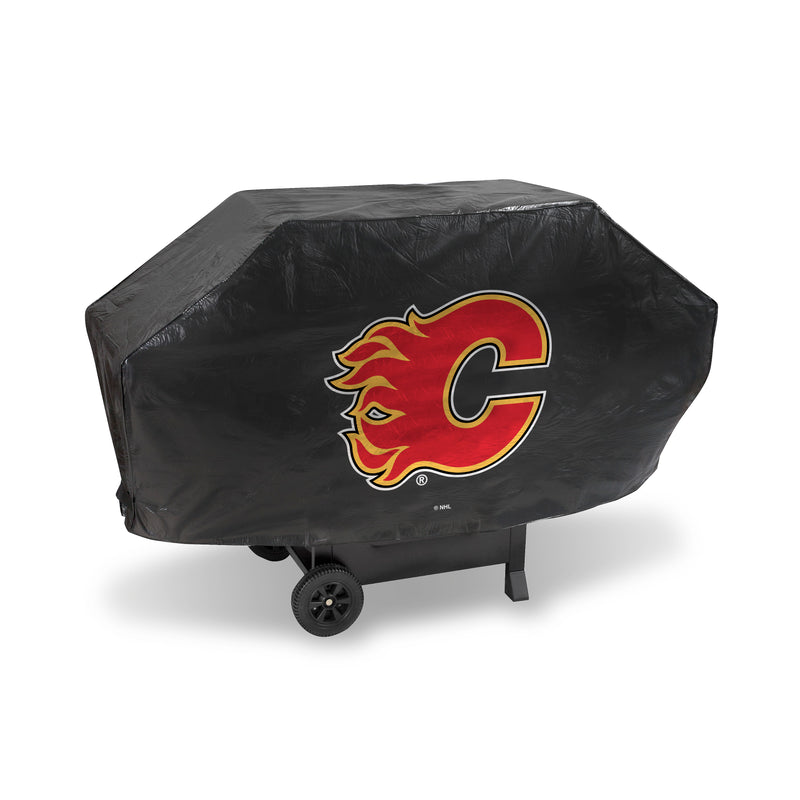 FLAMES DELUXE GRILL COVER (Black)