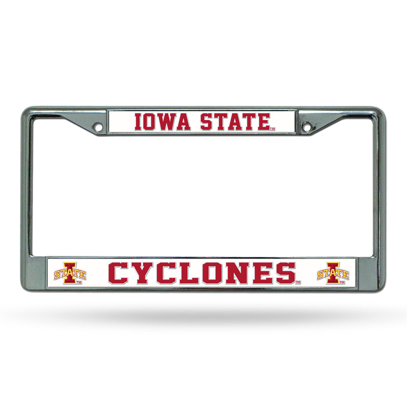 IOWA STATE CHROME FRAME