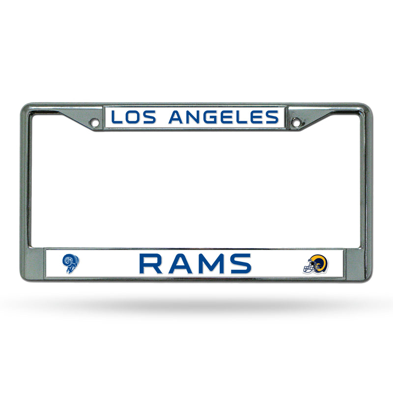 LA RAMS RETRO RAISED CHROME FRAME