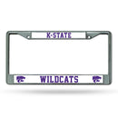 KANSAS STATE CHROME FRAME