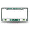 NORTH DAKOTA STATE CHROME FRAME